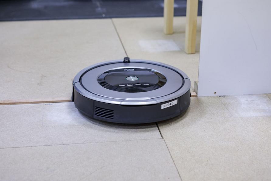Test av robotstøvsugere